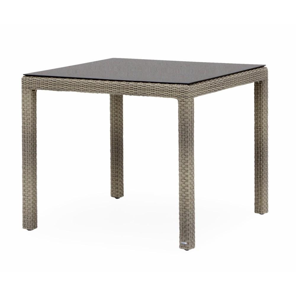 Záhradný jedálenský stôl Geese Nataly, 75 × 75 cm