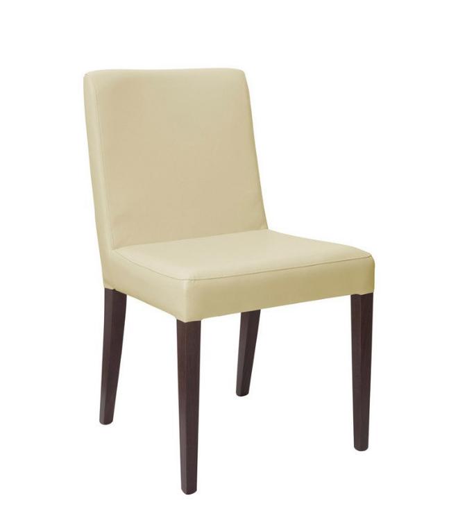 Jedálenská stolička Iberia   Farba: dub gaštan / krémová