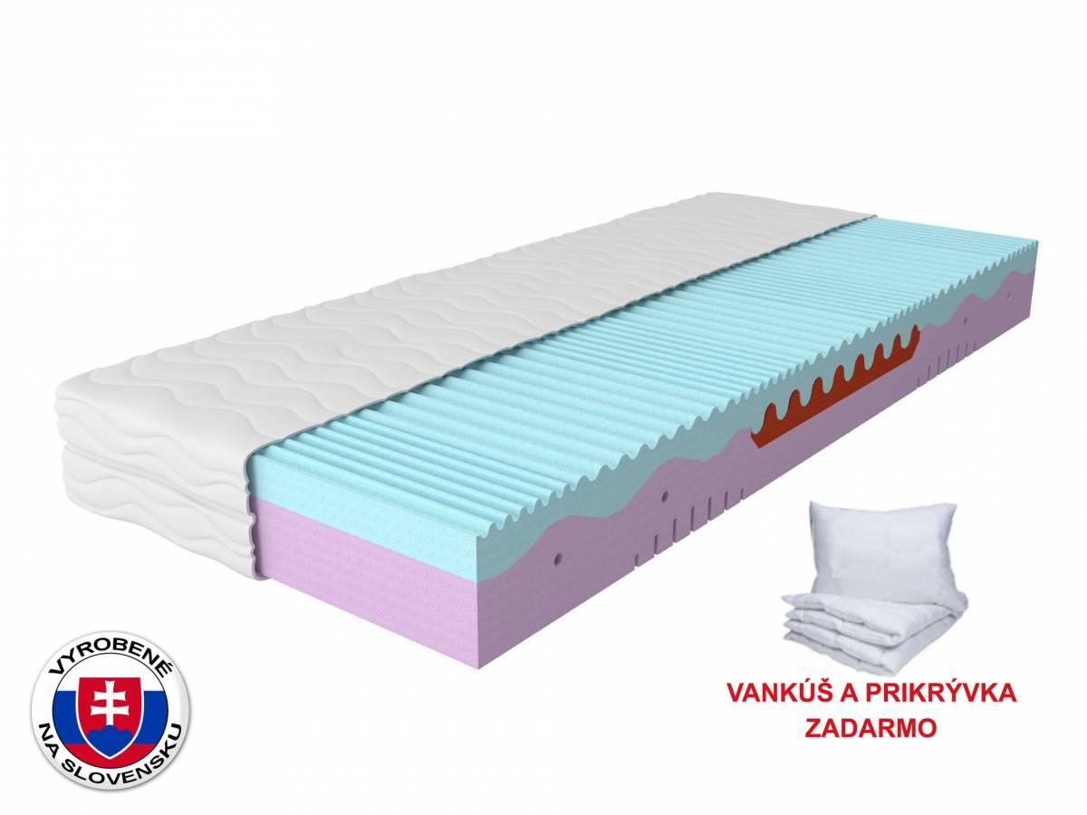 Penový matrac Memo Plus 200x80 cm (T3) *vankúš+prikrývka ZADARMO