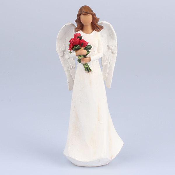 anjel s ružami 20 cm