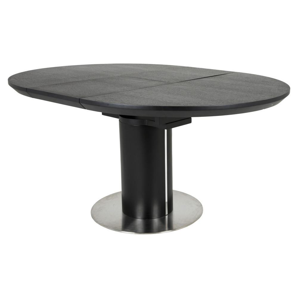 Čierny rozkladací jedálenský stôl Canett Butterfly