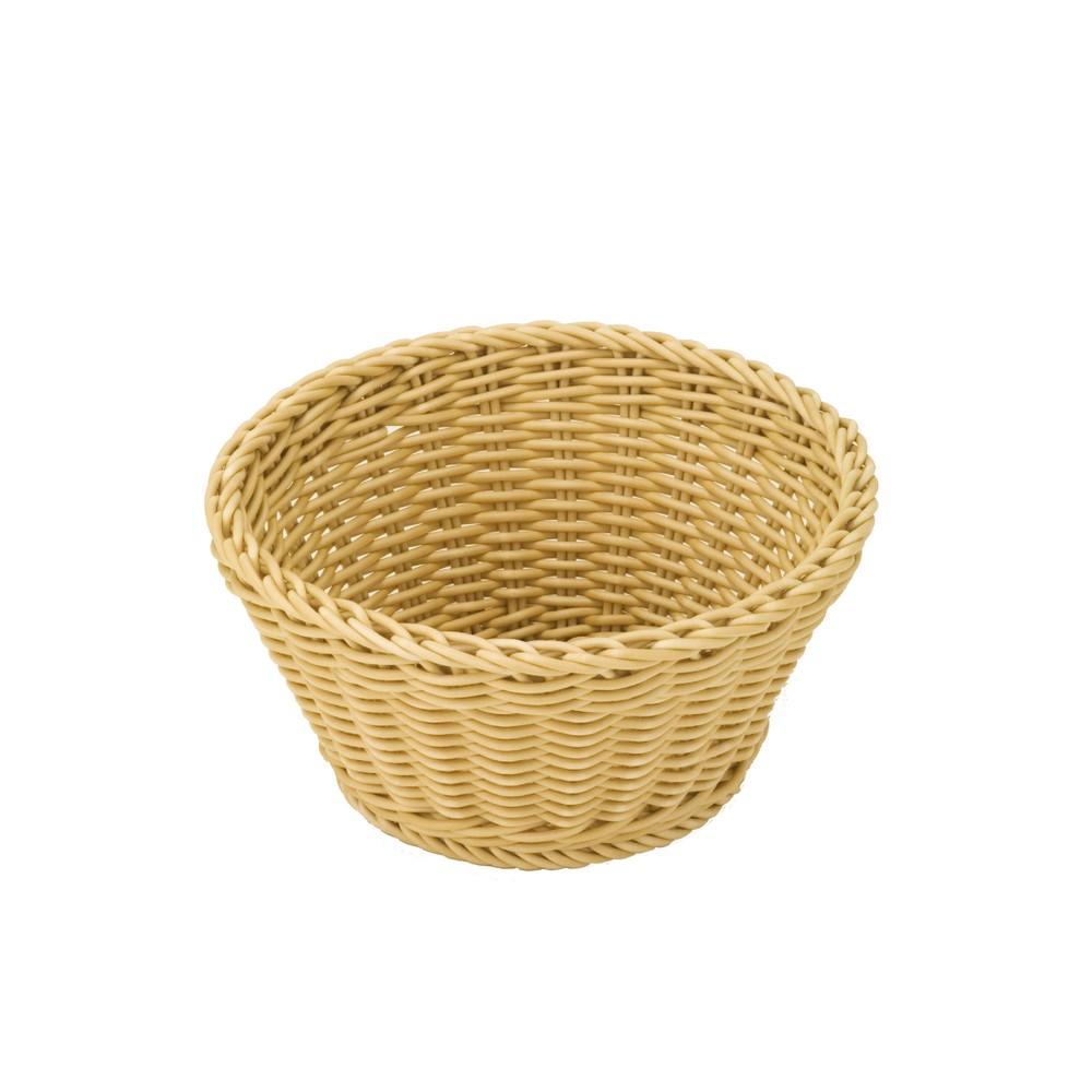 Béžový stolový košík Saleen, ø 18 cm