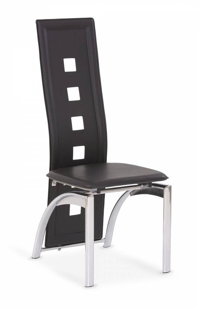 Jedálenská stolička K4 čierna