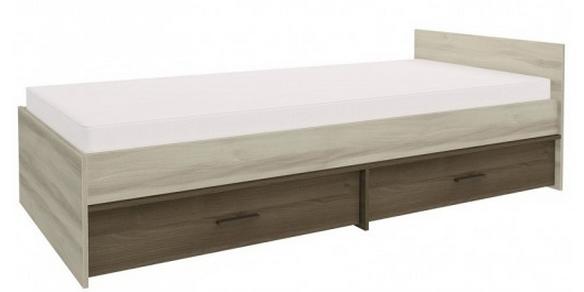 Detská posteľ GEOMETRIC 07 / BREST / AGÁT   Farba: agát