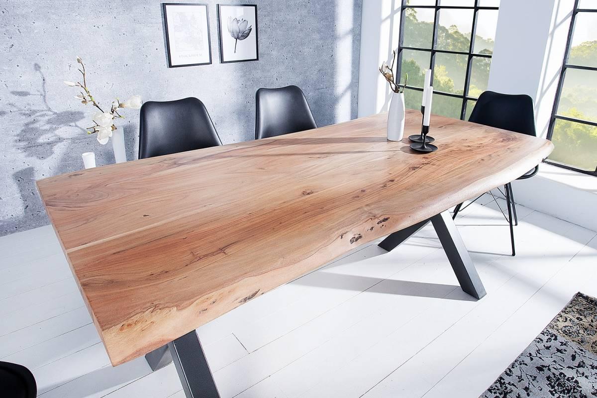 Bighome - Jedálenský stôl MATUM 160 cm - prírodná