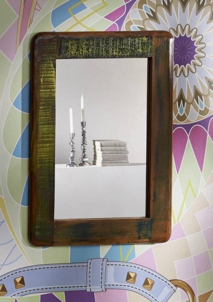 FREEZY zrkadlo #42, liatina a staré drevo