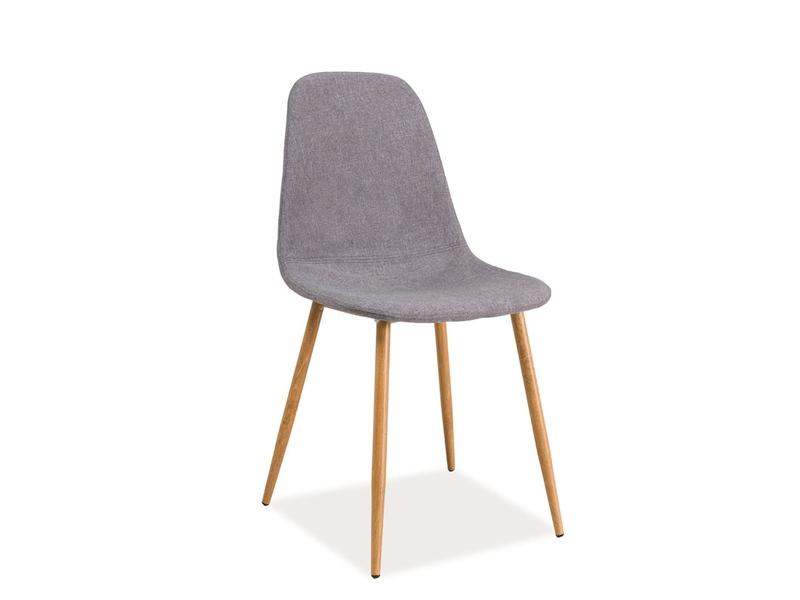 Jedálenská stolička Fox (sivá)