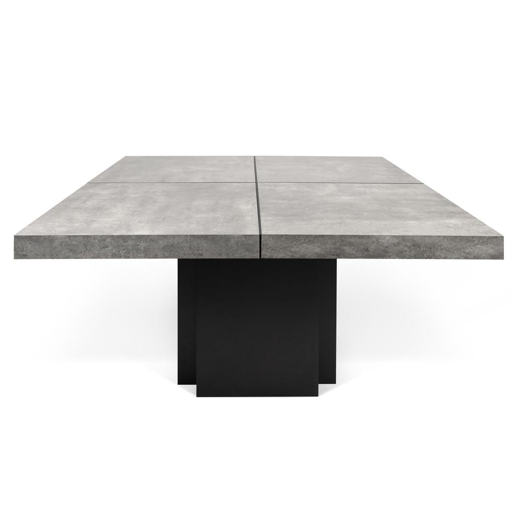 Jedálenský stôl s dekorom betónu TemaHome Dusk, 150cm