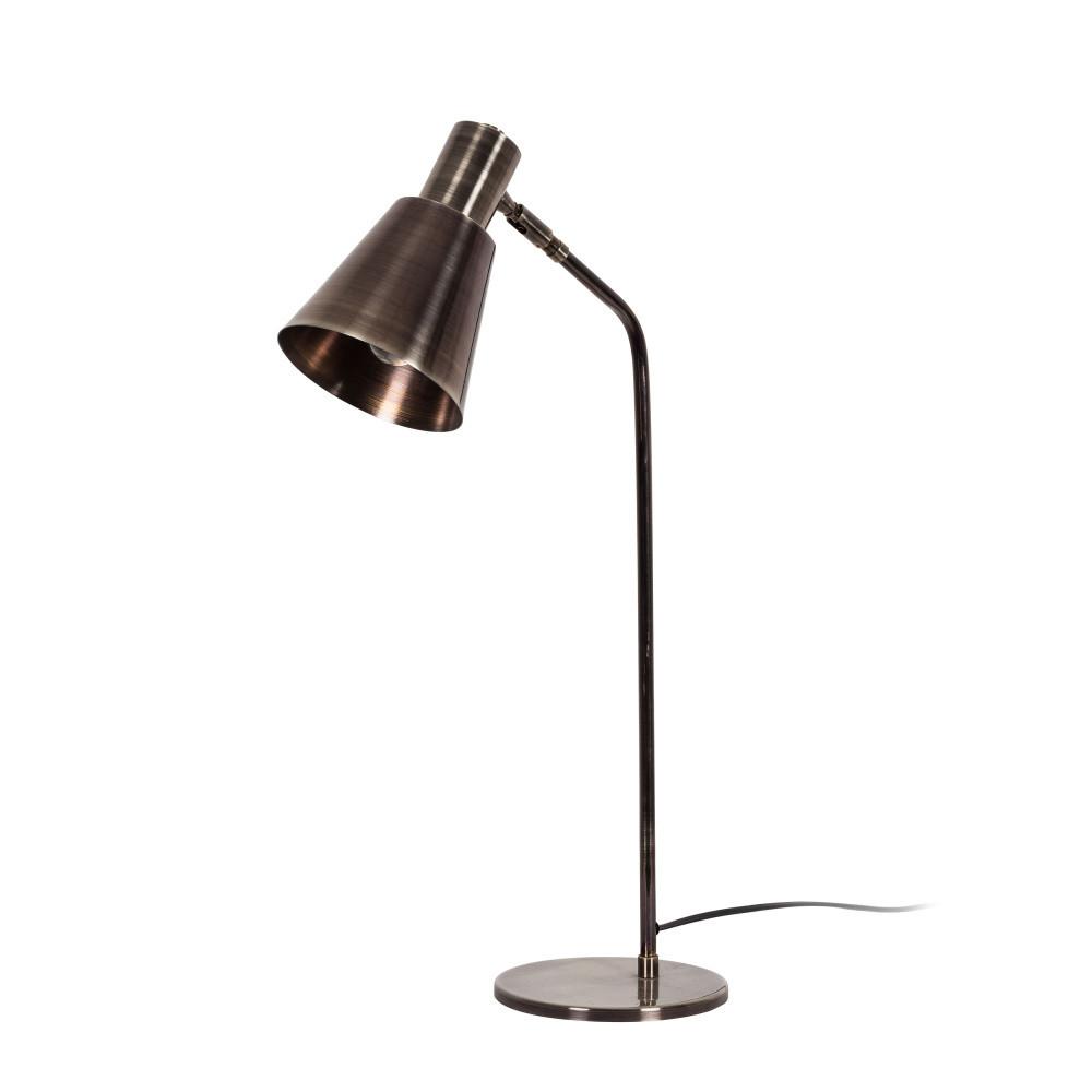 Stolová lampa v striebornej farbe Tay