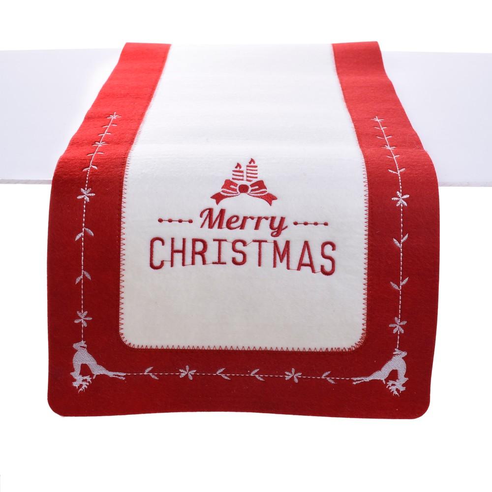 Vianočný behúň na stôl InArt Xmas, 120 × 30 cm
