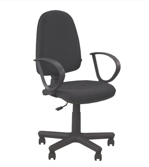Kancelárska stolička s podrúčkami JUPITER GTS   Farba: Čierna