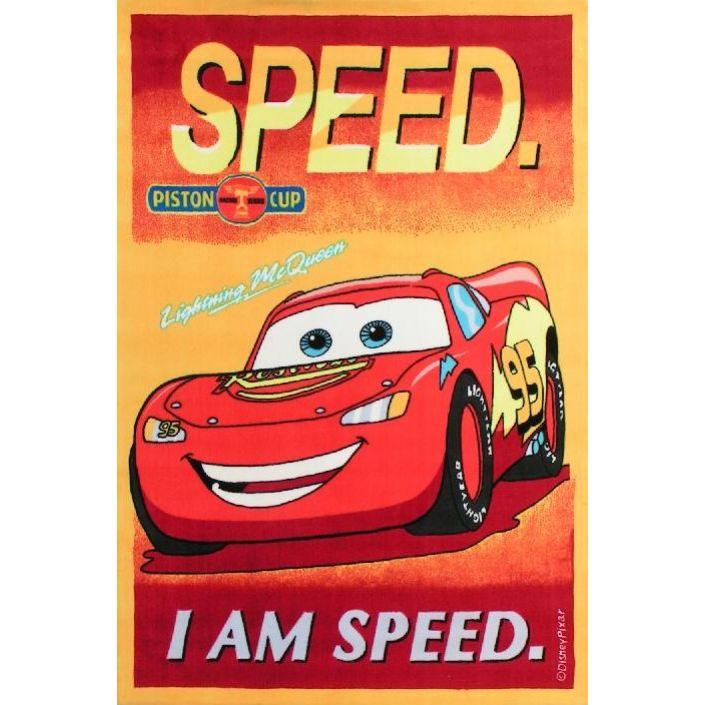 WITEK Koberec DISNEY Cars 02 červený 140x200cm