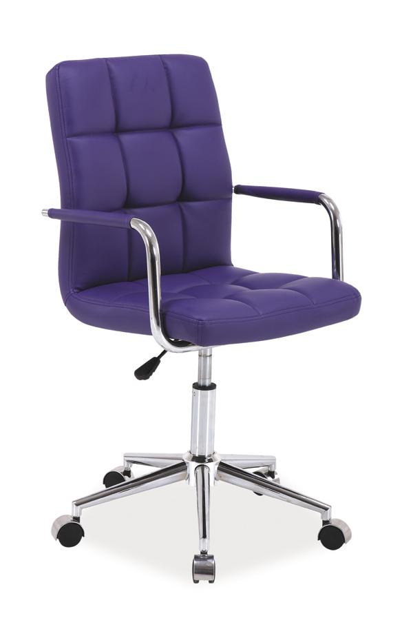 Kancelárske kreslo Q-022   Farba: Fialová
