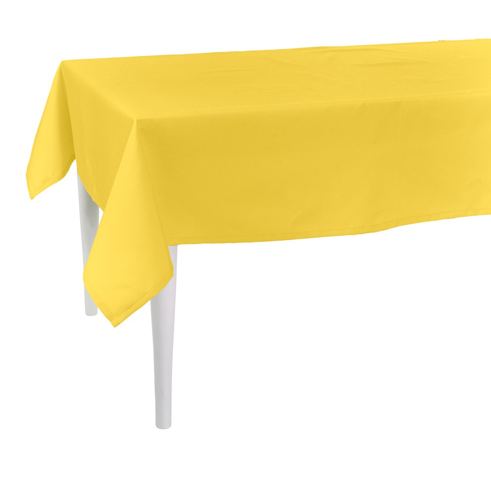 Žltý obrus Apolena Simply Yellow, 80×80cm