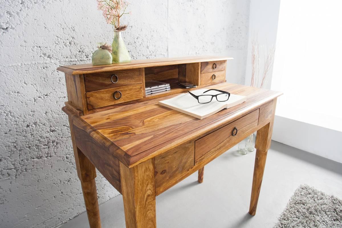 Písací stôl SHAKESPEARE - medová