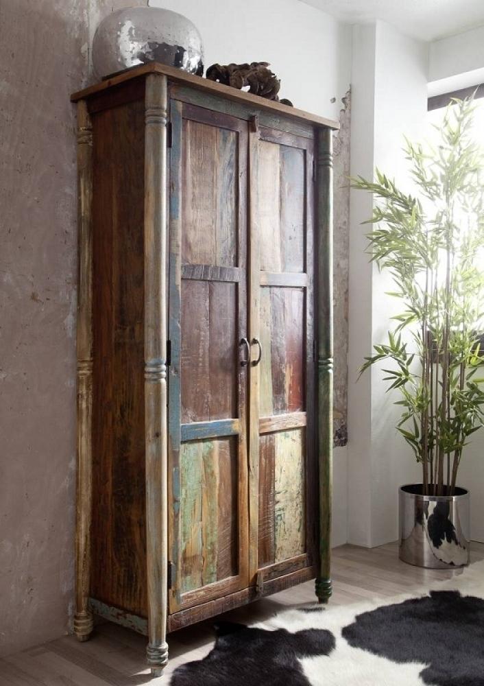 RAPUNZEL skriňa #12 lakované staré indické drevo