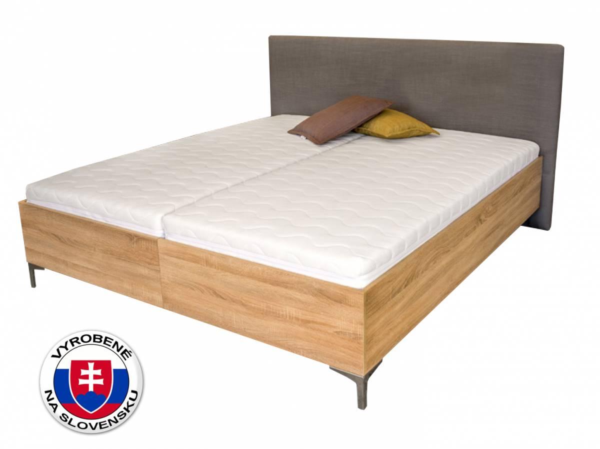Manželská posteľ 180 cm Benab Ferrera Wood (s roštami)