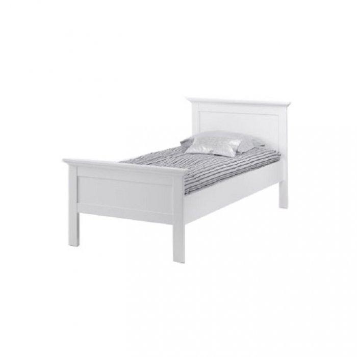 TEMPO KONDELA PARIS 77801 90 posteľ - biela