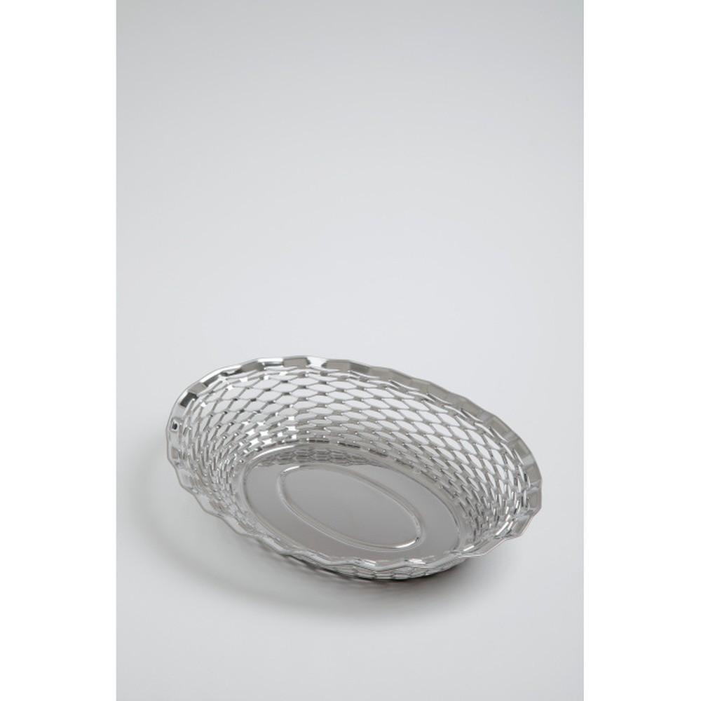 Oválny kôšík na pečivo Steel Function, 30x24 cm