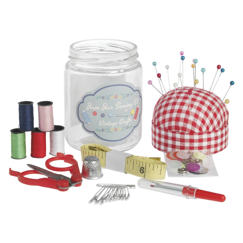 Set na šitie Rex London Vintage Jar
