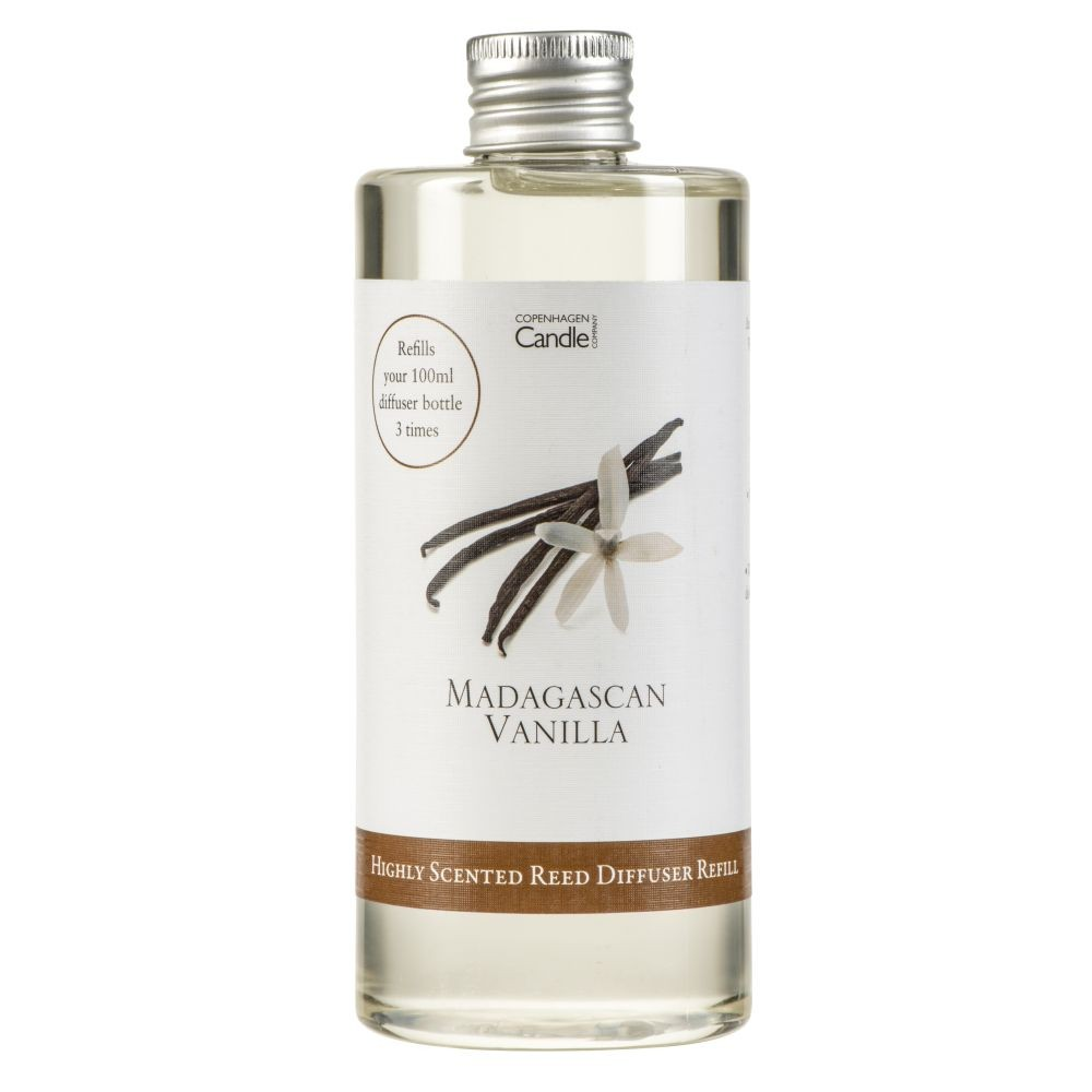 Náplň do aróma difuzéru Copenhagen Candles Madagascan Vanilla Silver, 300 ml