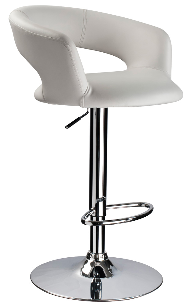 Barová stolička C-328 Krokus biela