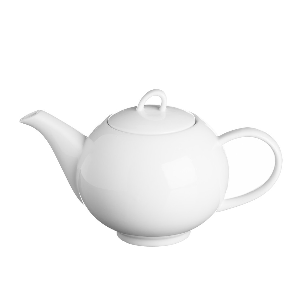 Biela čajová kanvica Price & Kensington Simplicity, 900 ml