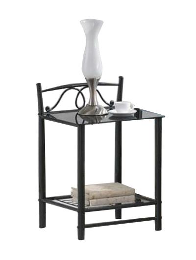 ET-920 nočný stolík, čierny