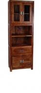 Furniture nábytok  Masívna knižnica z Palisanderu  Sábet  65x35x190 cm