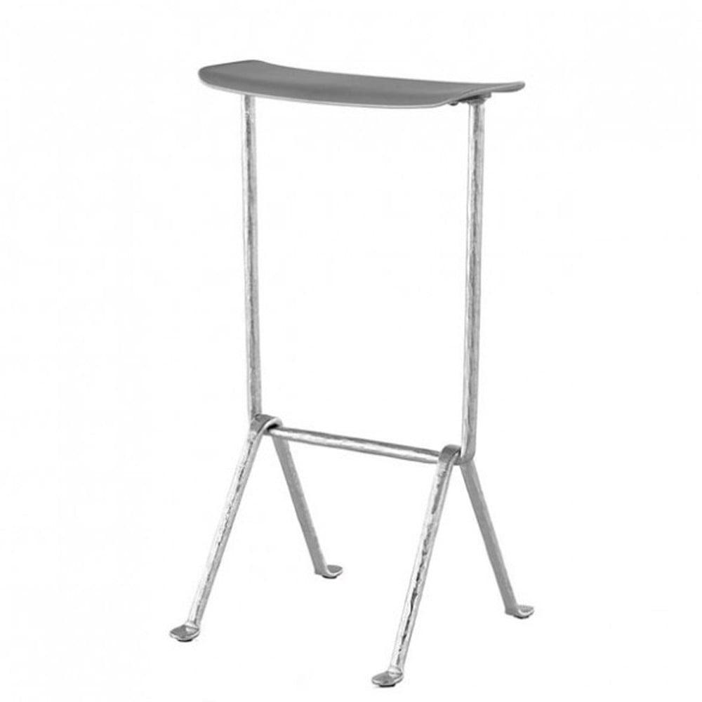 Sivá barová stolička Magis Officina, výška 75 cm
