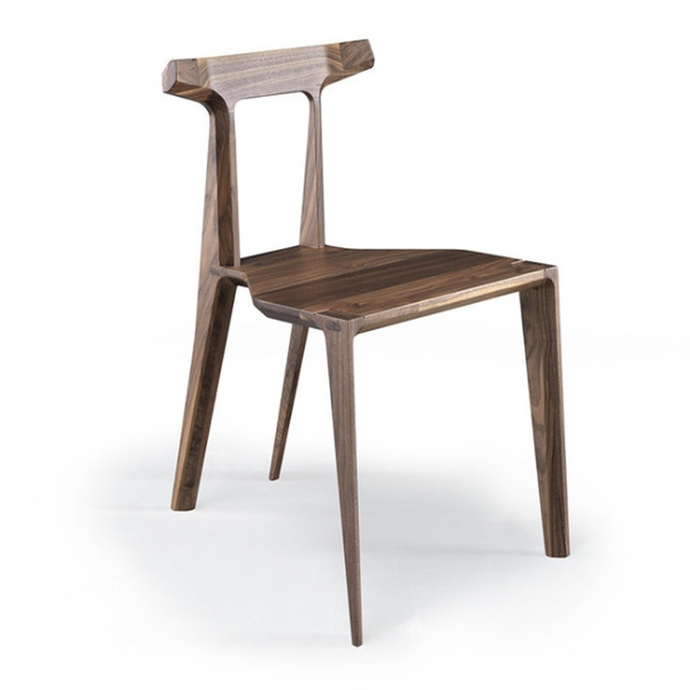 Jedálenská stolička z orechového dreva Wewood - Portugues Joinery Orca