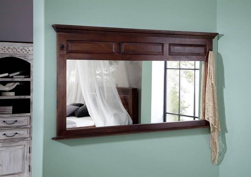 OXFORD #405 Kolonial zrkadlo, masívny agátový nábytok