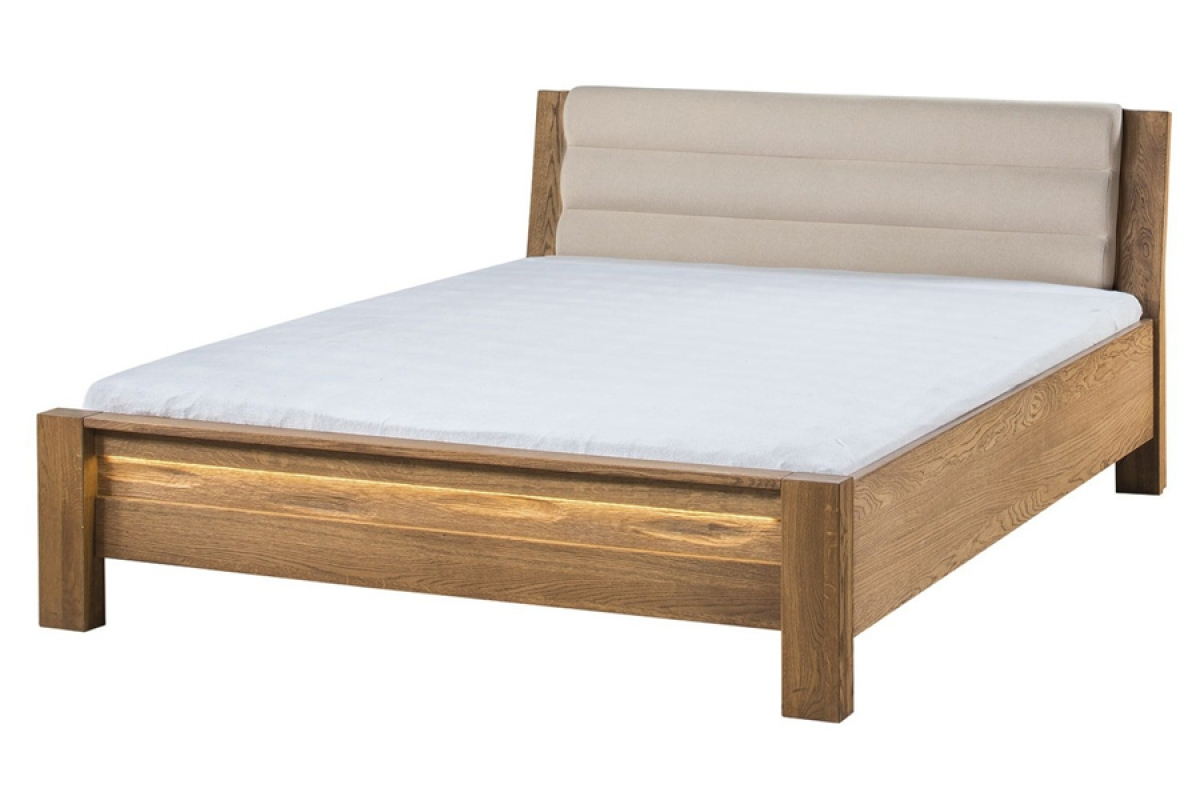 Nabytok-Bogart Velvet 76 - posteľ do spálne béžová