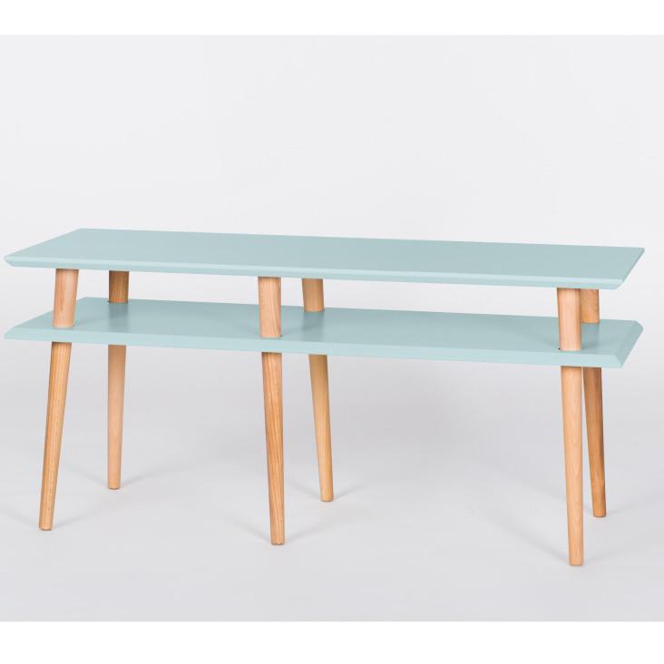 Tyrkysový konferenčný stolík Ragaba Mugo, 119 cm