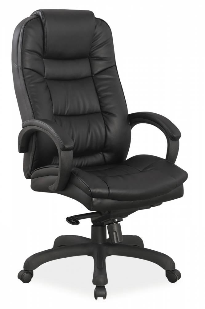 Kancelárske kreslo Q-155 (ekokoža čierna)