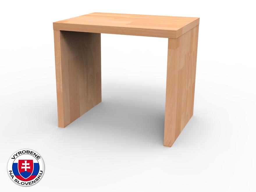 Nočný stolík z masívu UNI