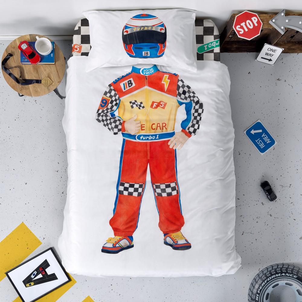 Obliečka na prikrývku Baleno Racer, 140×200 cm