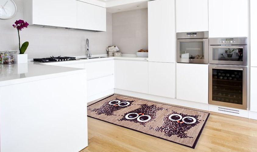 Vysokoodolný kuchynský koberec Webtapetti Gufocaffe, 60 x 150 cm