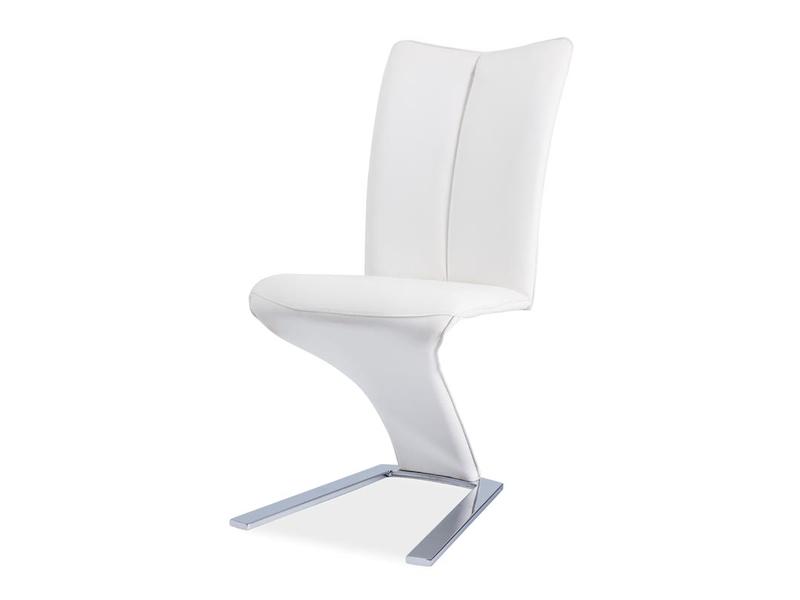 HK-040 jedálenská stolička, biela