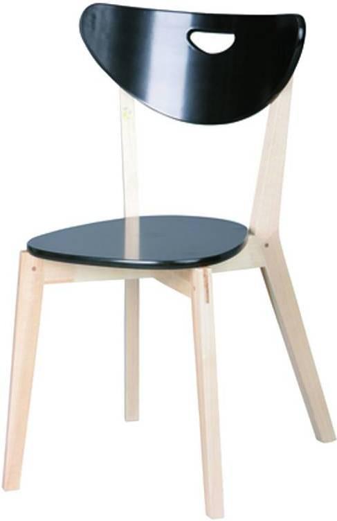 Stolička PEPPI - čierna (2ks)