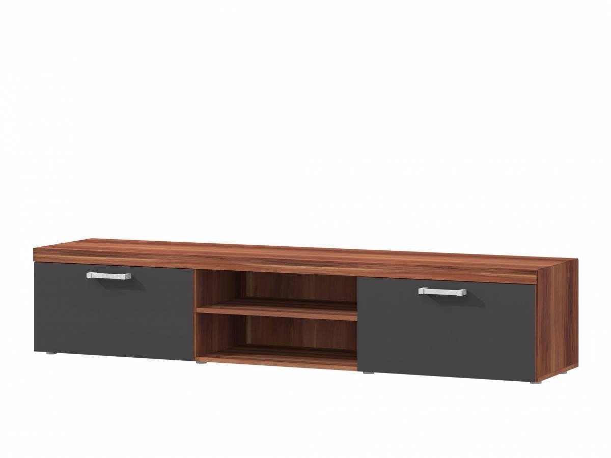 TV stolík/skrinka S8 (slivka + grafit)