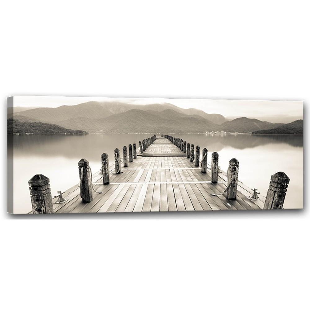 Obraz Styler Canvas Harmony Molo, 60×150 cm