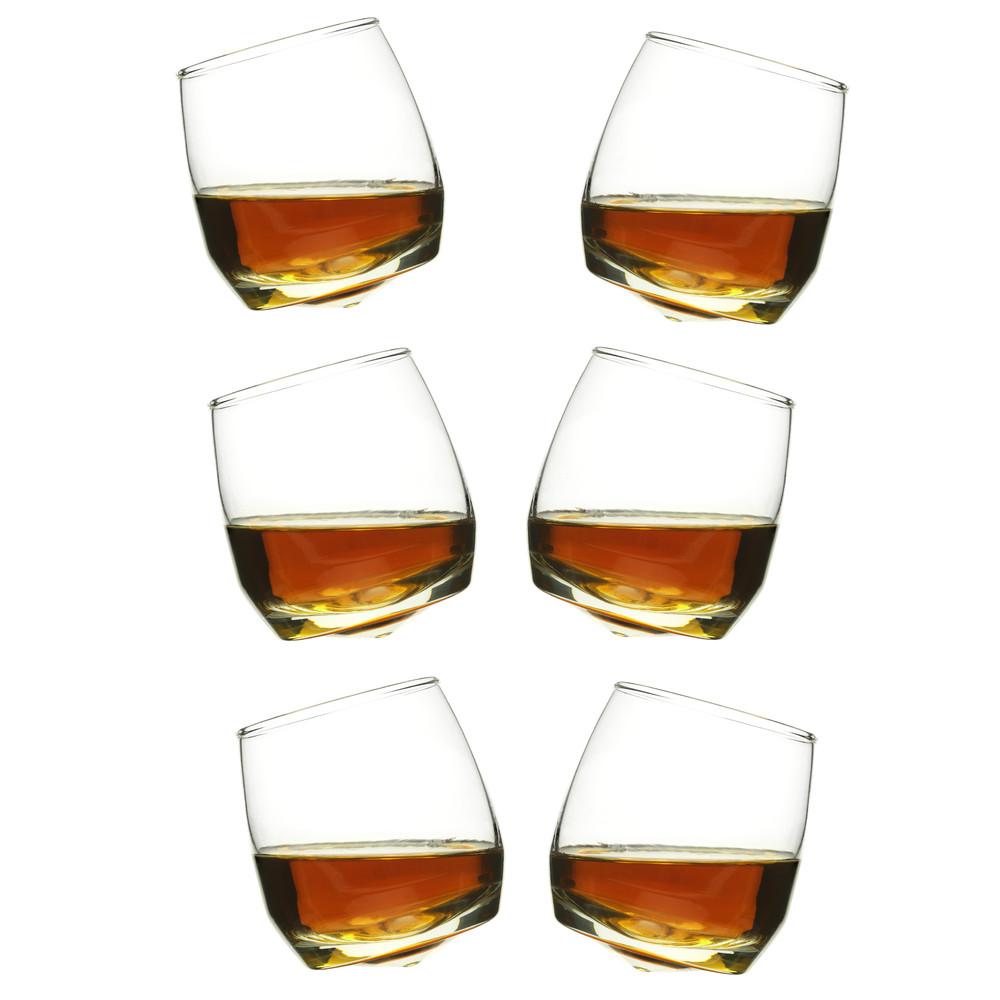 Hojdajúce sa poháre na whiskey Sagaform, 6 ks