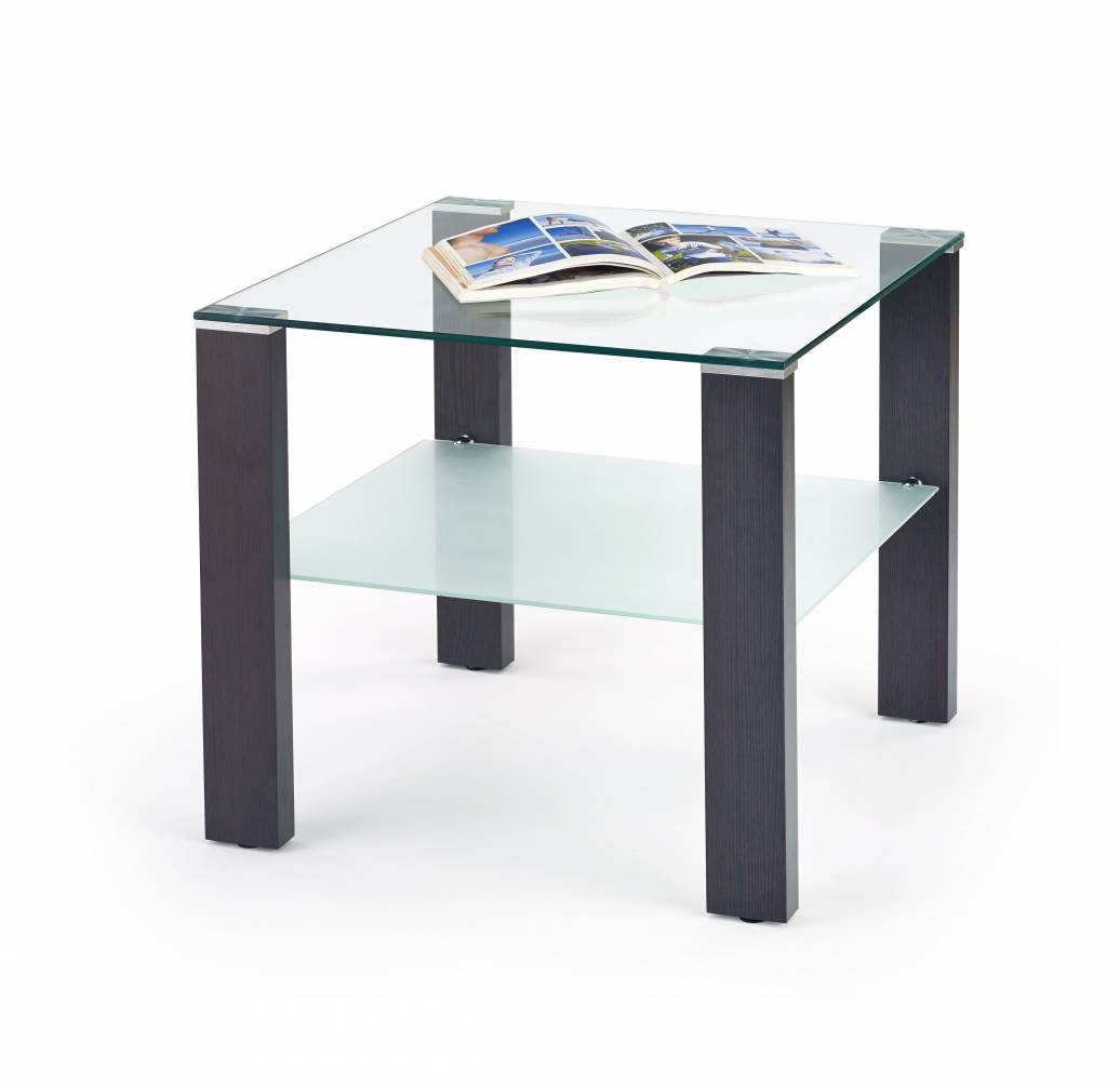 Konferenčný stolík SIMPLE H KWADRAT Wenge
