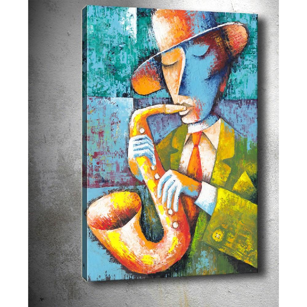 Obraz Tablo Center Saxophone, 50 × 70 cm