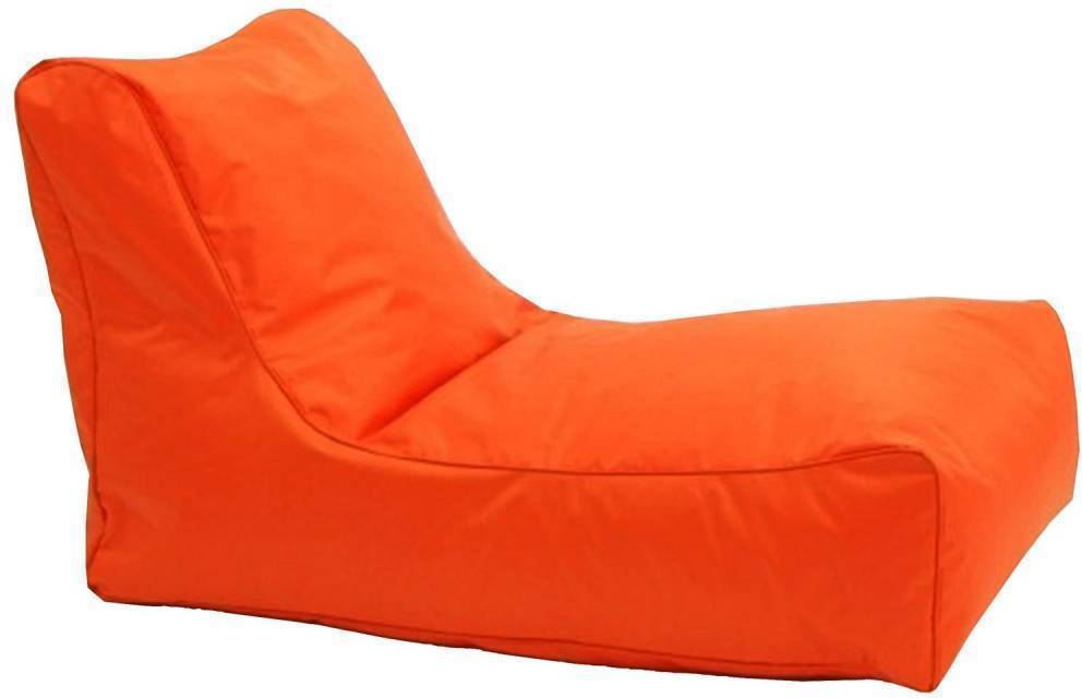 Sedacie kreslo LOUNGE oranžové