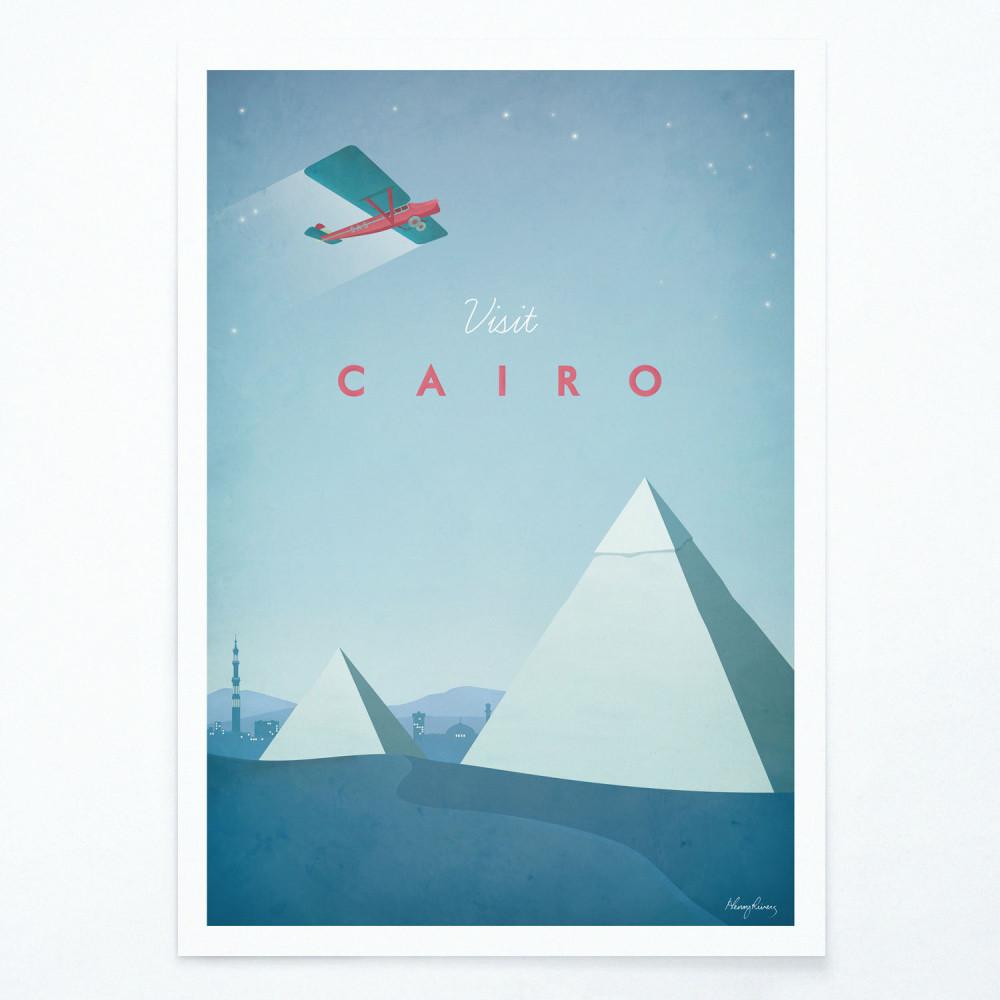 Plagát Travelposter Cairo, A2