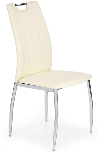Jedálenská stolička K187 biela