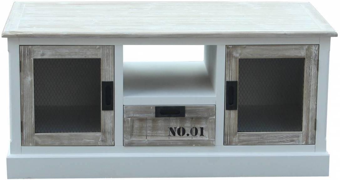 TV stolík WILD 120 cm - biela