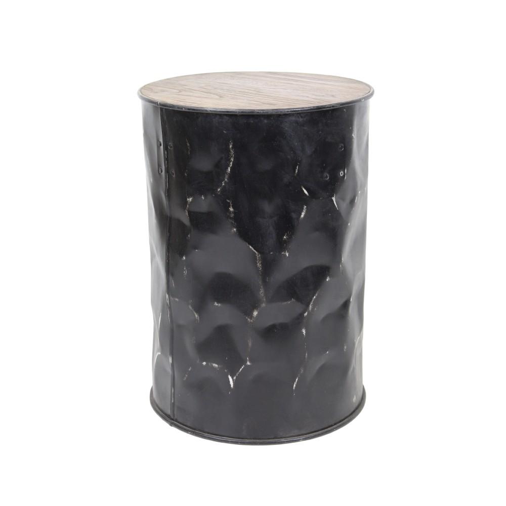 Stolička z teakového dreva a kovu HSM collection Stool